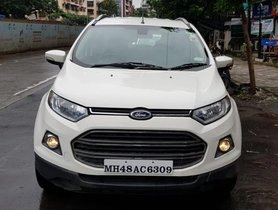Used Ford EcoSport 1.5 TDCi Titanium Plus BE 2015 MT for sale in Mumbai