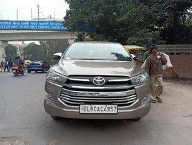 Toyota Innova Crysta 2.4 G MT 2017 in New Delhi