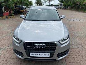 Audi Q3 2012-2015 35 TDI Quattro Premium Plus AT for sale in Mumbai