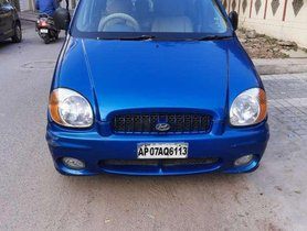 Hyundai Santro, 1999, Petrol MT for sale in Hyderabad
