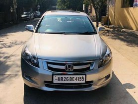 Used 2010 Honda Accord AT for sale in Gurgaon
