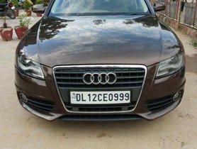 Audi A4 2.0 TDI (177bhp), Premium Plus, 2012, Diesel AT for sale in Gurgaon
