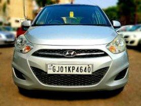 2012 Hyundai i10 Sportz 1.2 AT for sale at low price in Ahmedabad