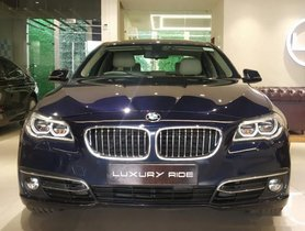 2015 BMW 5 Series AT 2013-2017 for sale in Ludhiana