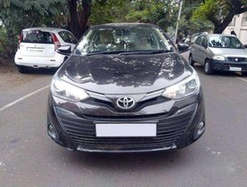 Used Toyota Yaris VX CVT AT car at low price in Visakhapatnam