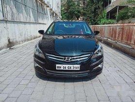Hyundai Verna, 2015, Petrol MT for sale in Thane