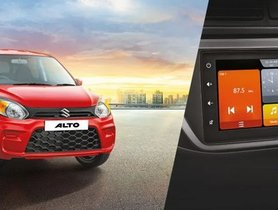 Maruti Alto 800 VXI Plus Gets New Touchscreen, Priced At Rs 3.8 Lakh