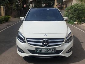 Mercedes Benz B Class B200 CDI AT 2016 in Bangalore