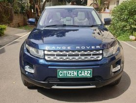 2012 Land Rover Range Rover Evoque 2.2L Dynamic AT for sale at low price in Bangalore