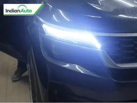 Modified Kia Seltos Looks Mesmerizing With Matrix DRL-Indicator