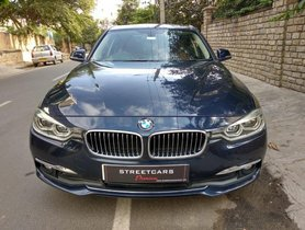 Used 2016 BMW 3 Series 320d AT for sale in Bangalore