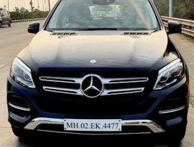 Used Mercedes Benz GLE AT car at low price in Mumbai