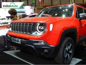 Jeep Renegade Plug-in Hybrid Unveiled In Global Market