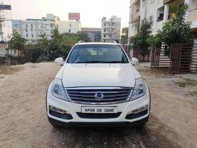 Used Mahindra Ssangyong Rexton RX7 AT car at low price in Hyderabad