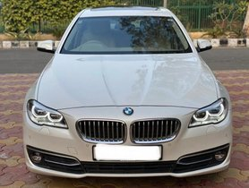Used 2015 BMW 5 Series  AT 2013-2017 for sale in New Delhi