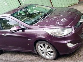 2012 Hyundai Verna AT for sale in Thane