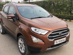 2017 Ford EcoSport Titamium Plus Petrol AT for sale in New Delhi