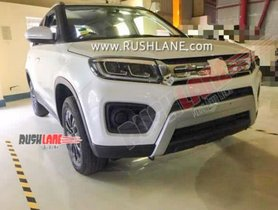 This Is The Upcoming Facelifted Maruti Vitara Brezza