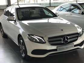 2018 Mercedes Benz E Class E 220 d MT for sale at low price in Bangalore