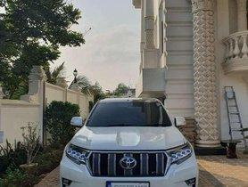 Used Toyota prado AT car at low price in Guntur