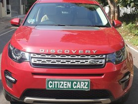 Used 2017 Land Rover Discovery Sport  Si4 HSE AT for sale in Bangalore