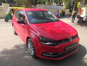 Used Volkswagen Polo 1.5 TDI Comfortline MT car at low price in Bangalore