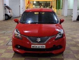 Used Maruti Suzuki Baleno RS MT car at low price in Mumbai