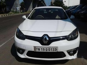 Used Renault Fluence MT car at low price in Chennai
