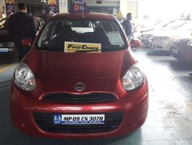 Used Nissan Micra Active MT car at low price in Indore