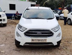 Ford Ecosport EcoSport Ambiente 1.5 TDCi, 2017, Diesel MT for sale in Mumbai