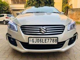 Used Maruti Suzuki Ciaz Smart Hybrid Alpha , 2017, Diesel MT for sale in Vadodara
