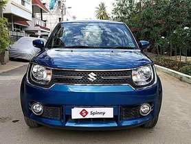 2018 Maruti Suzuki Ignis AT for sale in Tumkur