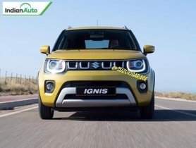 2020 Maruti Ignis (Facelift) Images Leaked Ahead Of Debut