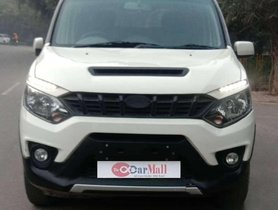Used Mahindra NuvoSport N6 2016 MT for sale in Agra