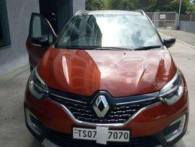 2018 Renault Captur MT for sale in Hyderabad