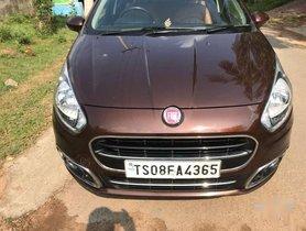 Fiat Punto Evo Multijet 1.3 90 hp, 2016, Diesel AT for sale in Hyderabad