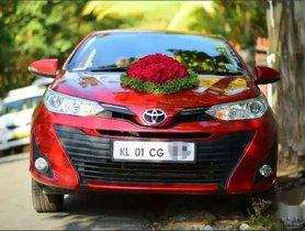 Used Toyota Yaris MT for sale in Thiruvananthapuram at low price