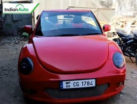 Modified Maruti Swift Looks Exactly Like A Volkswagen Beetle