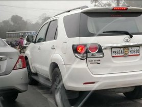 Inspector General's Toyota Fortuner Gets Fine For Zebra Crossing Violation