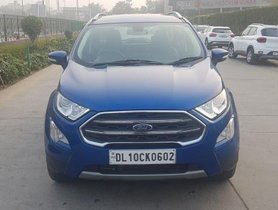Ford EcoSport 1.5 TDCi Titanium Plus BE 2017 MT for sale in New Delhi