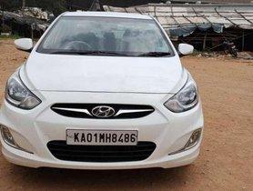 2012 Hyundai Verna MT for sale in Nagar