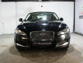Jaguar XF Diesel 2014 AT for sale in Hyderabad