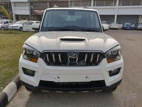 Used Mahindra Scorpio MT car at low price in Chandigarh