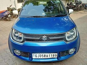 Used Maruti Suzuki Ignis 1.2 Alpha 2017 MT for sale in Surat