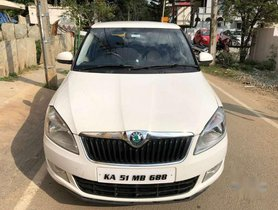 Used Skoda Fabia MT car at low price in Nagar