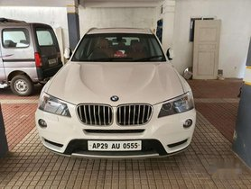 Used 2012 BMW X3 AT for sale in Hyderabad