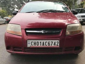 Used Chevrolet Aveo U-VA, 2010, Petrol MT for sale in Chandigarh