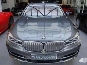 Used BMW 7 Series 750Li Sedan, 2016, Petrol AT for sale in Ludhiana