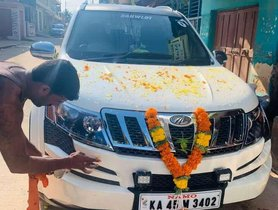 Used Mahindra XUV 500 MT for sale in Mysore