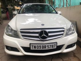 Mercedes Benz C-Class 220 CDI AT 2012 in Chennai